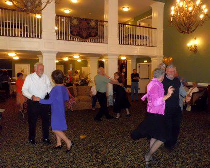 Dancing at the Manor