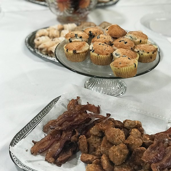 Brasstown Manor Senior Living - Muffins and Catered Food