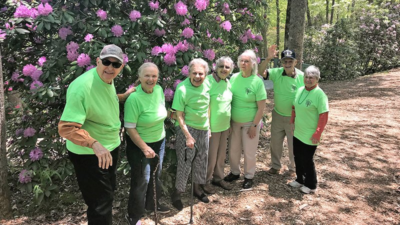 Brasstown Manor Senior Living - Group Nature Walk
