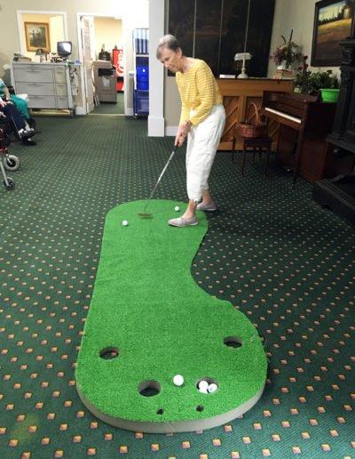 Indoor Putt Putt Golf
