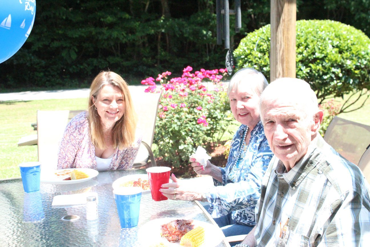 Brasstown Manor Senior Living - Father's Day Cookout 2018