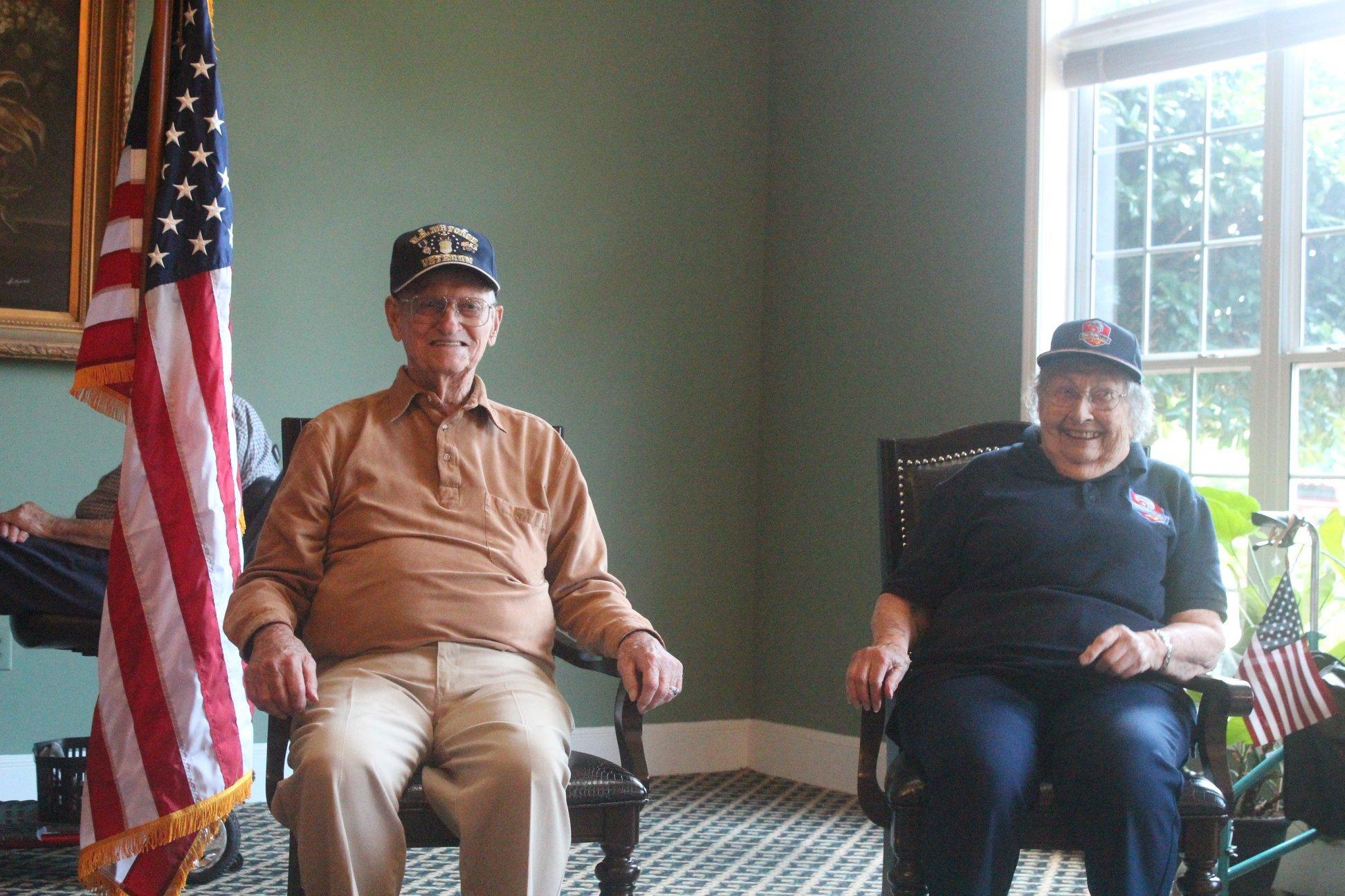 Brasstown Manor Senior Living - Quilt of Valor, Veterans 2018