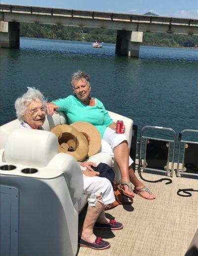 Boating on Lake Chatuge