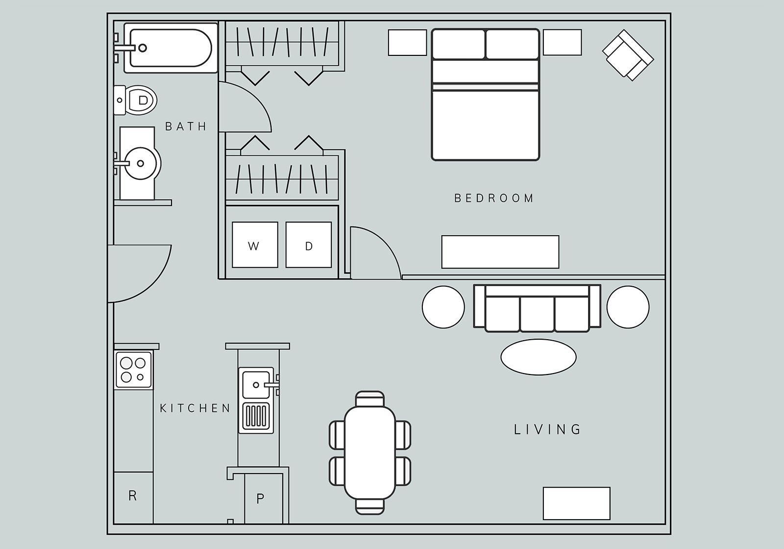 Floor Plans - Brasstown Manor Senior Living