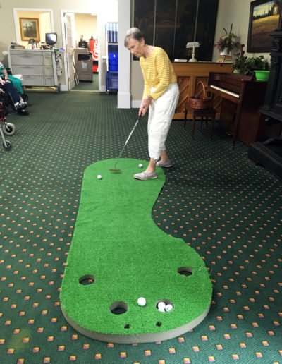Indoor Putt Putt Golf
