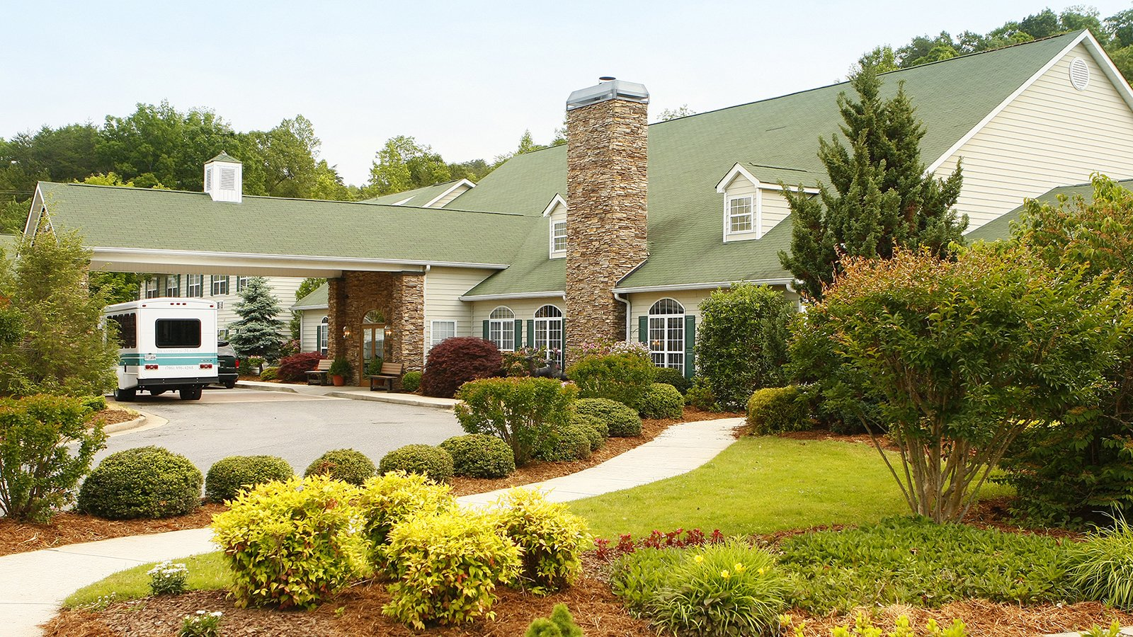 Brasstown Manor Senior Living Community Entrance
