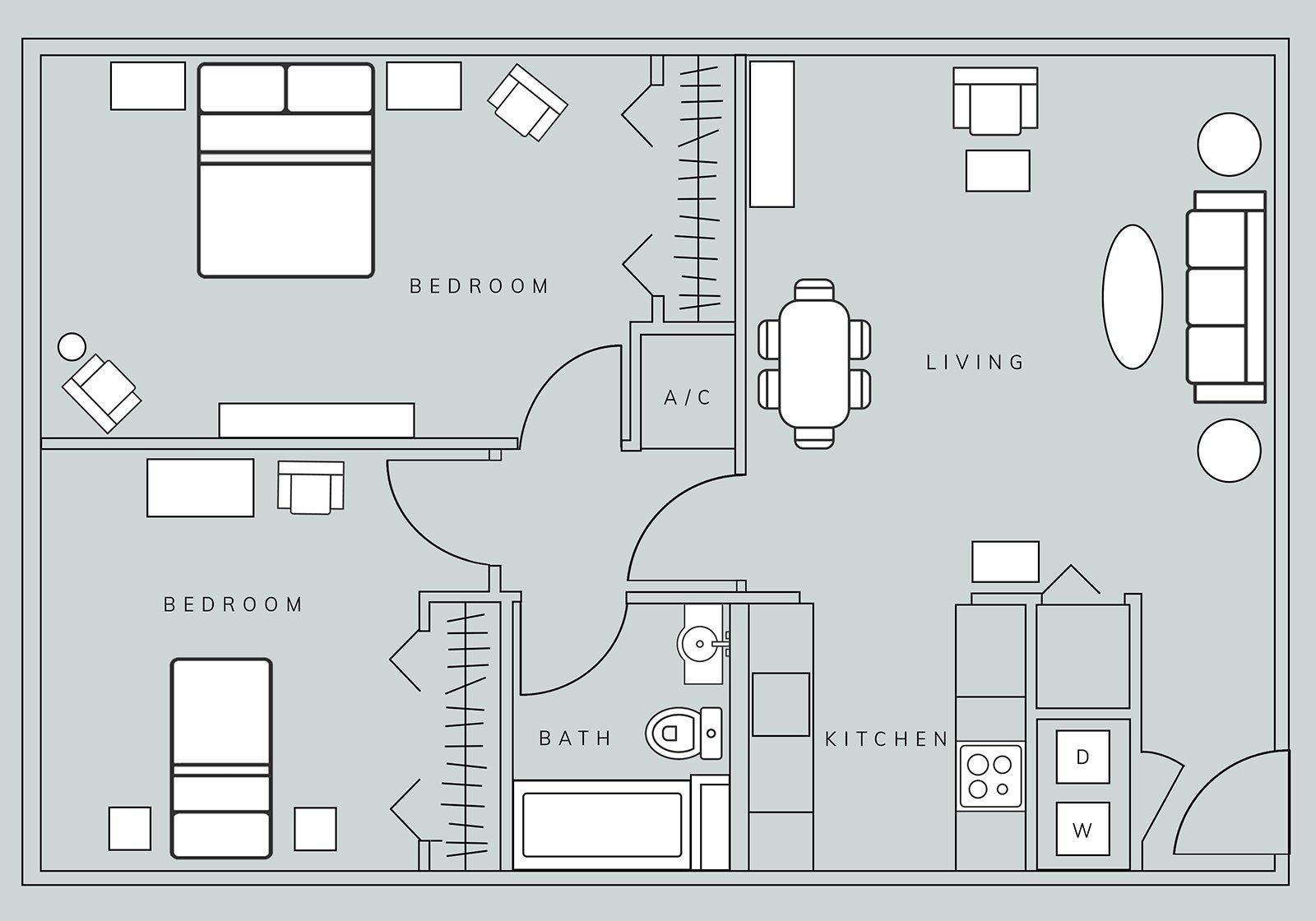 Floor Plans - Brasstown Manor Senior Living